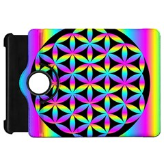 Flower Of Life Gradient Fill Black Circle Plain Kindle Fire HD 7