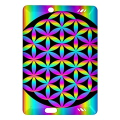 Flower Of Life Gradient Fill Black Circle Plain Amazon Kindle Fire Hd (2013) Hardshell Case