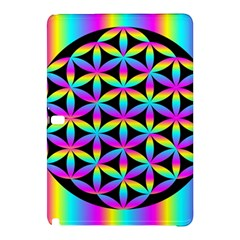 Flower Of Life Gradient Fill Black Circle Plain Samsung Galaxy Tab Pro 12.2 Hardshell Case