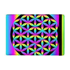 Flower Of Life Gradient Fill Black Circle Plain iPad Mini 2 Flip Cases