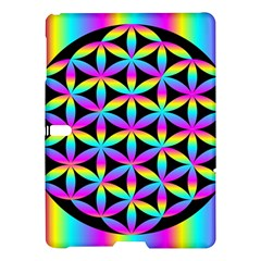 Flower Of Life Gradient Fill Black Circle Plain Samsung Galaxy Tab S (10.5 ) Hardshell Case