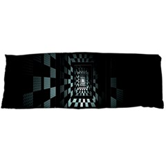 Optical Illusion Square Abstract Geometry Body Pillow Case Dakimakura (Two Sides)