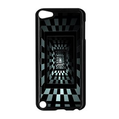 Optical Illusion Square Abstract Geometry Apple Ipod Touch 5 Case (black)