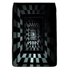 Optical Illusion Square Abstract Geometry Flap Covers (S)