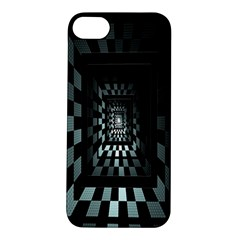 Optical Illusion Square Abstract Geometry Apple iPhone 5S/ SE Hardshell Case