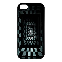 Optical Illusion Square Abstract Geometry Apple iPhone 5C Hardshell Case
