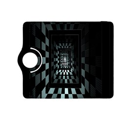 Optical Illusion Square Abstract Geometry Kindle Fire HDX 8.9  Flip 360 Case