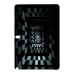Optical Illusion Square Abstract Geometry Samsung Galaxy Tab Pro 10.1 Hardshell Case