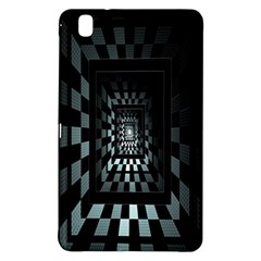 Optical Illusion Square Abstract Geometry Samsung Galaxy Tab Pro 8.4 Hardshell Case