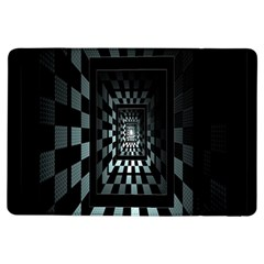 Optical Illusion Square Abstract Geometry iPad Air Flip