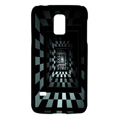 Optical Illusion Square Abstract Geometry Galaxy S5 Mini