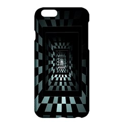 Optical Illusion Square Abstract Geometry Apple iPhone 6 Plus/6S Plus Hardshell Case