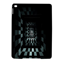 Optical Illusion Square Abstract Geometry iPad Air 2 Hardshell Cases