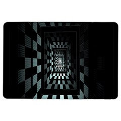 Optical Illusion Square Abstract Geometry Ipad Air 2 Flip