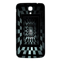 Optical Illusion Square Abstract Geometry Samsung Galaxy Mega I9200 Hardshell Back Case