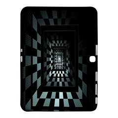 Optical Illusion Square Abstract Geometry Samsung Galaxy Tab 4 (10.1 ) Hardshell Case