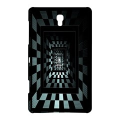 Optical Illusion Square Abstract Geometry Samsung Galaxy Tab S (8.4 ) Hardshell Case