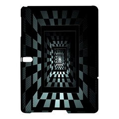 Optical Illusion Square Abstract Geometry Samsung Galaxy Tab S (10.5 ) Hardshell Case