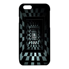 Optical Illusion Square Abstract Geometry iPhone 6/6S TPU Case