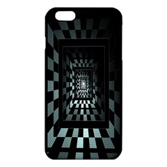Optical Illusion Square Abstract Geometry Iphone 6 Plus/6s Plus Tpu Case