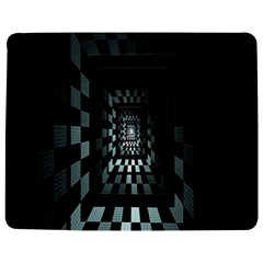 Optical Illusion Square Abstract Geometry Jigsaw Puzzle Photo Stand (rectangular)