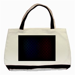 Hexagon Colorful Pattern Gradient Honeycombs Basic Tote Bag