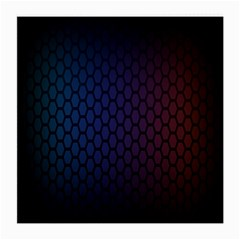 Hexagon Colorful Pattern Gradient Honeycombs Medium Glasses Cloth (2 Side)