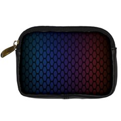 Hexagon Colorful Pattern Gradient Honeycombs Digital Camera Cases