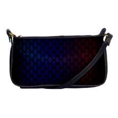 Hexagon Colorful Pattern Gradient Honeycombs Shoulder Clutch Bags