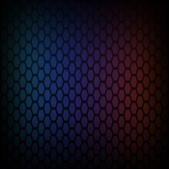 Hexagon Colorful Pattern Gradient Honeycombs Magic Photo Cubes