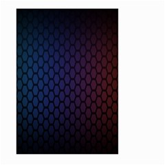 Hexagon Colorful Pattern Gradient Honeycombs Large Garden Flag (two Sides)