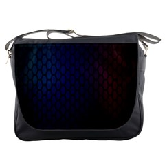 Hexagon Colorful Pattern Gradient Honeycombs Messenger Bags