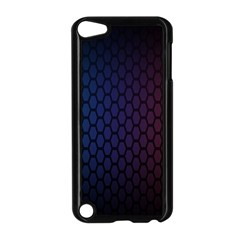 Hexagon Colorful Pattern Gradient Honeycombs Apple Ipod Touch 5 Case (black)