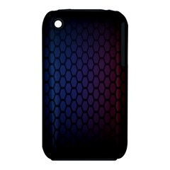 Hexagon Colorful Pattern Gradient Honeycombs iPhone 3S/3GS