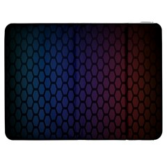 Hexagon Colorful Pattern Gradient Honeycombs Samsung Galaxy Tab 7  P1000 Flip Case