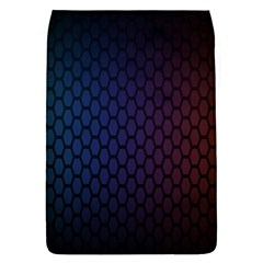 Hexagon Colorful Pattern Gradient Honeycombs Flap Covers (l)