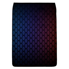 Hexagon Colorful Pattern Gradient Honeycombs Flap Covers (s)