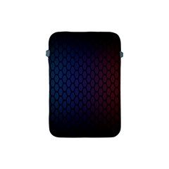 Hexagon Colorful Pattern Gradient Honeycombs Apple iPad Mini Protective Soft Cases