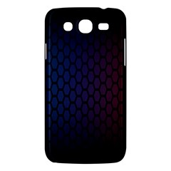 Hexagon Colorful Pattern Gradient Honeycombs Samsung Galaxy Mega 5 8 I9152 Hardshell Case