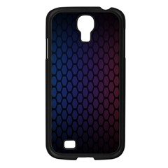 Hexagon Colorful Pattern Gradient Honeycombs Samsung Galaxy S4 I9500/ I9505 Case (Black)