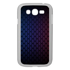 Hexagon Colorful Pattern Gradient Honeycombs Samsung Galaxy Grand DUOS I9082 Case (White)