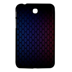 Hexagon Colorful Pattern Gradient Honeycombs Samsung Galaxy Tab 3 (7 ) P3200 Hardshell Case