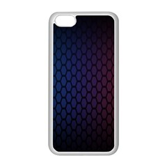 Hexagon Colorful Pattern Gradient Honeycombs Apple Iphone 5c Seamless Case (white)