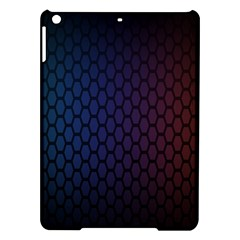 Hexagon Colorful Pattern Gradient Honeycombs iPad Air Hardshell Cases