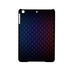 Hexagon Colorful Pattern Gradient Honeycombs iPad Mini 2 Hardshell Cases