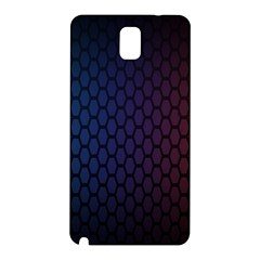 Hexagon Colorful Pattern Gradient Honeycombs Samsung Galaxy Note 3 N9005 Hardshell Back Case