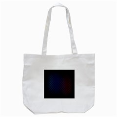 Hexagon Colorful Pattern Gradient Honeycombs Tote Bag (white)