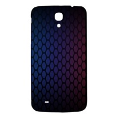 Hexagon Colorful Pattern Gradient Honeycombs Samsung Galaxy Mega I9200 Hardshell Back Case