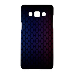Hexagon Colorful Pattern Gradient Honeycombs Samsung Galaxy A5 Hardshell Case