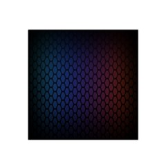 Hexagon Colorful Pattern Gradient Honeycombs Satin Bandana Scarf